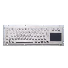 Металлическая клавиатура из нержавеющей стали с тачпадом
