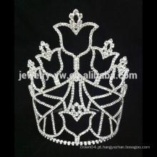 Branca, nupcial, tiara, casamento, cabelo, coroa, costume, nupcial, coroa
