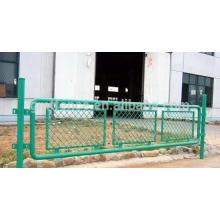 Revêtement en PVC Maille métallique élargie / cloisonnement en tôle expansée / clôture en treillis métallique de sécurité routière