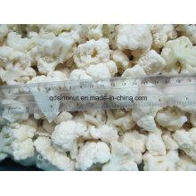 Nueva calidad de la cosecha La mejor calidad coliflor de la coliflor los 3cm-5cm Tamaño (BRC, FDA, ISO, KOSHER, HALAL)