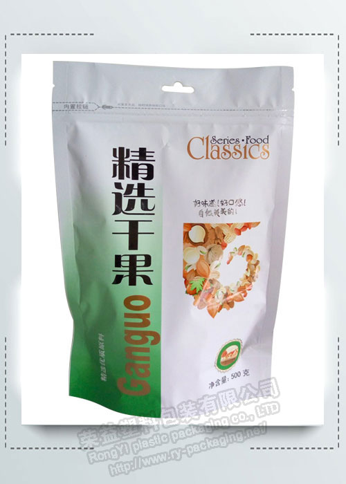 Stand up Plastic Pack Bags for Dried Fruit