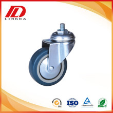 3 inch industrial thread stem casters