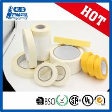 Cinta adhesiva adhesiva adhesiva de papel de crepe resistente al calor