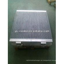 Condensador vendedor caliente / condensador de aluminio de la placa-aleta