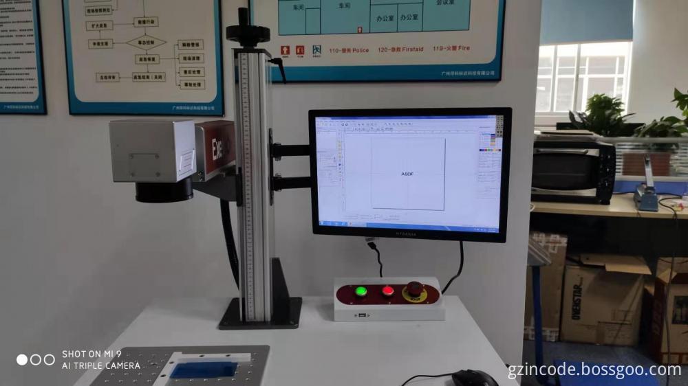 UV PVC Pipe Laser Printer
