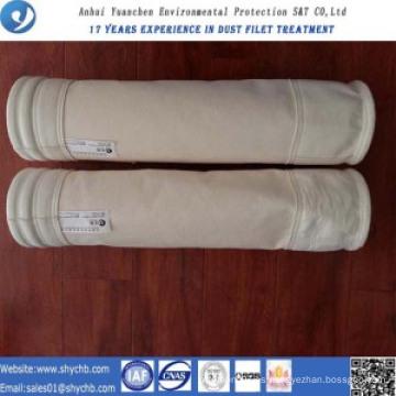 Bolsa de filtro compuesto de PPS a prueba de agua y aceite para bolsa de recogida de polvo