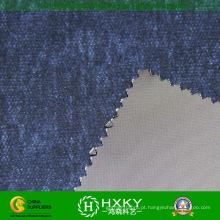 Tecelagem impressa poliéster tecido para revestimento de Men′s