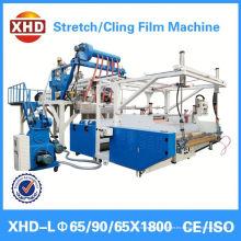 Máquina de la película del estiramiento de la extrusión de la co capa doble para la venta