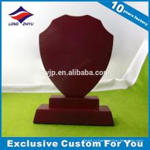 Модная пустой красный цвет деревянной plauqe с Китаем поставщиком