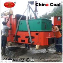 Locomotive électrique actionnée par batterie anti-explosive souterraine d'exploitation minière de 8ton