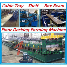 2015 Hot Sale!Cable Tray & Shelf & Box Beam & Floor Decking Roll Forming Machine