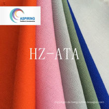 Uni Fabric Tc Polyester Gewebe gefärbt für Workwear Stoff