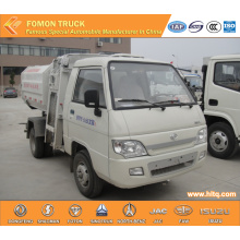 FOTON forland side loading garbage truck mini 2m3