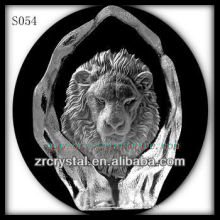 K9 Crystal Intaglio of Mold S054