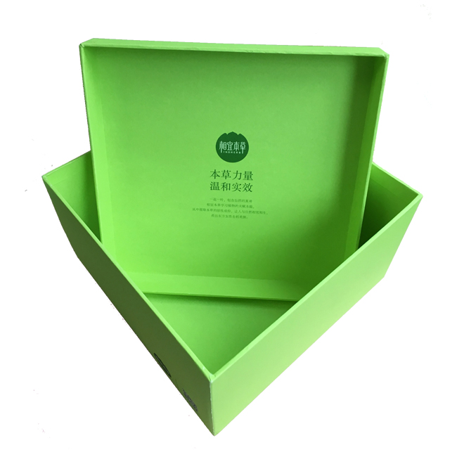 Paper Board Rigid Base And Top Gift Box