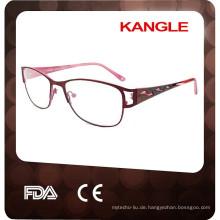 2017 für Erwachsene Oval Vollrand Metall Mode Optische Gläser Spetacle rahmen