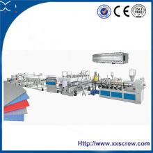 Machine d'extrusion de feuille gaufrée PC (polycarbonate)
