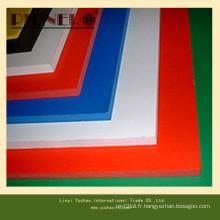 Haute densité 0.55 White 18mm PVC mousse pour armoires