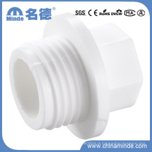 PPR Branco Fittings-Pipe Plug para Materiais de Construção