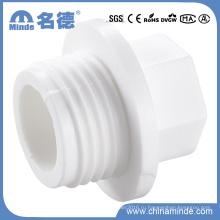 PPR Белый фитинги-трубная заглушка для строительных материалов