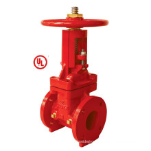 UL 300psi-OS&Y Type Flanged End Gate Valve