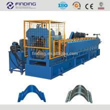 Metal roofing sheet ridge cap roll forming machine