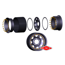 3 PCS Steel Inner Bead-Lock Wheel Rim 16X12