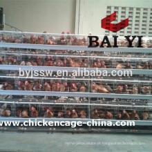 Equipamento de gaiolas de aves para agricultor de frango