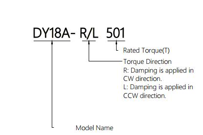 Rotary Damper For Display Flip