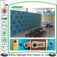 Тренажерный зал ABS пластик ПВХ шкафчики