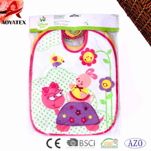 polyester cotton manufacturer waterproof baby bibs