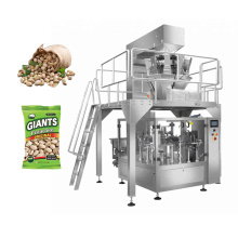 Automatic Filling Sealing Nuts Sugar Granule Potato Chips Premade Pouch Vertical Automatic Packaging Machine