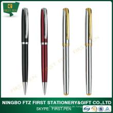 Kundenspezifisches Logo-Luxus-Geschenk-Metall-Rollen-Stift