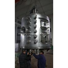 Séchoir à plaques rotatif continu pour carbonate de lithium