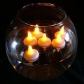 LED Flameless Mini Floating LED velas de chá