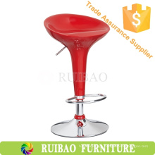 Atacado RBS-6000 Bar Furniture Clear Abs Hard Plastic Bar Stool