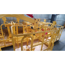 1.2 m 1.5 m truck crane lift work cradle platform Hydraulic Mobile Man boom lift platform basket