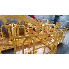 1,2 м 1,5 м подъемник автокрана платформа рабочая люлька Гидравлическая корзина платформы подъемника стрелы мобильного человека