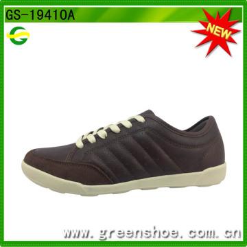 Boa qualidade homens calçados casuais fabricantes China (gs-19410)