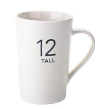 Zahl-Entwurf Starbucks Kaffeetasse