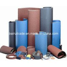 Abrasif enduit de tissu de papier abrasif pour le métal