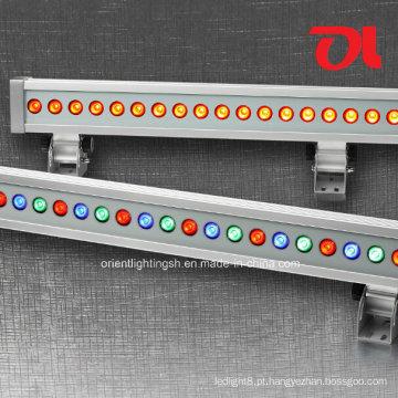 Arruela de parede linear do diodo emissor de luz do diodo emissor de luz 12W / 18W / 24W / 36W RGB