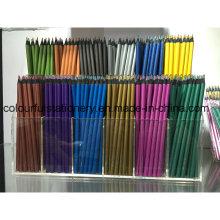 Lápis de desenho de madeira preto promocional