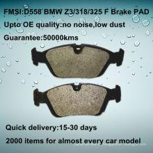 D558 OE disco de qualidade do carro 323/325/328 freio pad