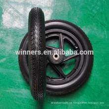 12 1/2 x 2 1/4 rueda de goma de espuma de poliuretano para carros