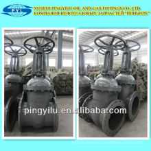 Válvula de porta de vapor de alta pressão padrão russa pn16 DN300