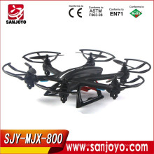 Nueva Llegada RC Quadcopter Drone con cámara RTF 2.4GHz 6 ejes Gyro Headless Mode One Key Return SJY-MJX-X800