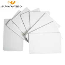 Custom Printable 13.56mhz Blank White NFC F08 Chip PVC Card
