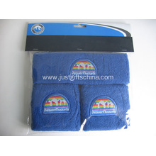 3PCS Promotional Custom Sweatband Set W/ Logo