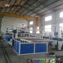 Ligne de fabrication de profilés en bois / plastique / PVC / PE / PP